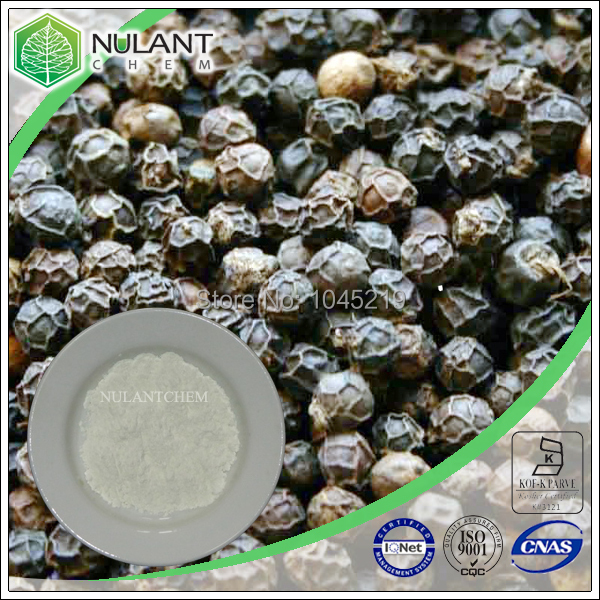High quality plant extract- Black pepper Extract 98% Piperine 100g sample<br><br>Aliexpress