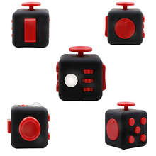 Buy 2017 New Fidget Toys Puzzles & Magic Cubes Anti Anxiety Fidget Cube Anti Stress Reliever Fidget Spinner 3.3*3.3cm Stress Cube for $3.44 in AliExpress store