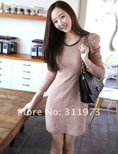 One Size-New Sexy bubble-bubble OL jumper skirt  Dress #8192(China (Mainland))