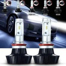 Buy 2x 9005 9006 H7 H8 H11 H4 160W 16000LM Auto Front Bulbs Car LED Headlights Bulb Head Lamp Fog Light Kit Hi/Lo Beam White 6000K for $41.28 in AliExpress store
