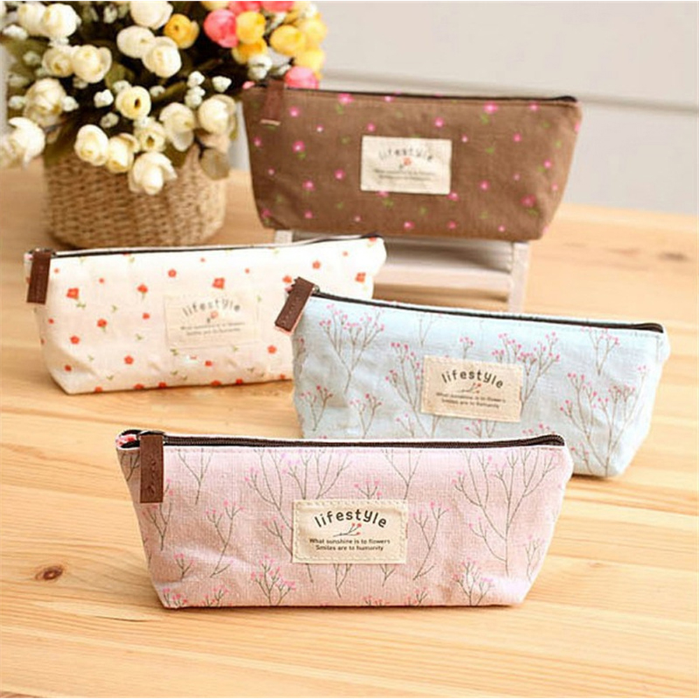 Pencil Purse Beautician Vanity Necessaire Trip Beauty Women Travel Toiletry Kit Make Up Makeup Case Cosmetic Bag Organizer Pouch(China (Mainland))