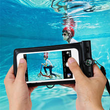 Underwater Phone Bag Case For Samsung Galaxy S4 S5 S6 Edge Note 2 3 4 5 Universal Waterproof Pouch For iPhone 5 5S 6 6S 6 Plus