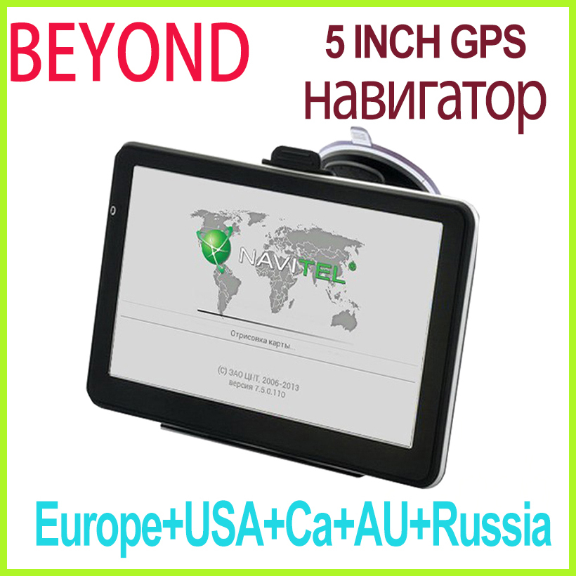 5 inch 100% NEW Original car gps navigation 4G /Touch/ MP3/MP4 Russia,Europe,USA+Canada,Australia 2015 Map vehicle navigator(China (Mainland))