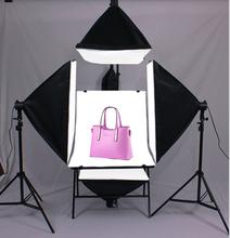 TOP foto stuido photography conjunto de ILUMINACIÓN cuadro 4 sola lámpara conjunto softbox luz equipo fotográfico puesto de tiro