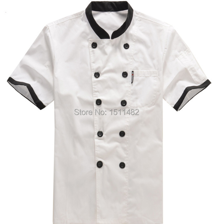 2015 new arrival kitchen chef uniforms,chef clothing,chef services,food service chef coats,work wear,free shipping(China (Mainland))
