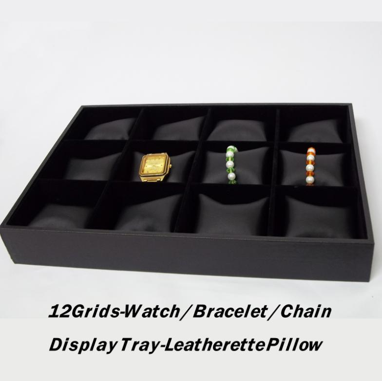 2X 12Cells Pillow Bracelet Jewelry Watches Display Storage Case Tray NEW FREE SHIP<br><br>Aliexpress