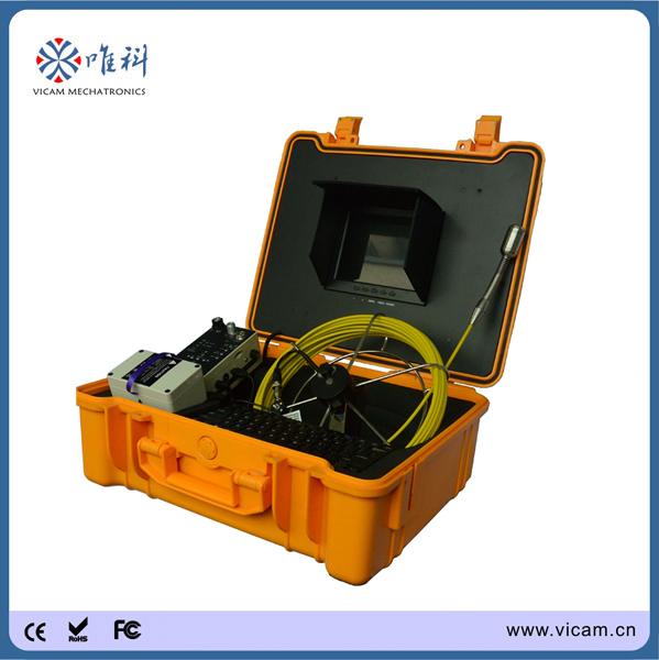 30m cable Underwater CCTV Pipe Inspection sewer pipe inspection camera for sale(China (Mainland))