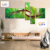 Free Shipping !!! 5 Pieces ,Large Handmade Modern Canvas Oil Painting Wall Art ,Free Shipping Worldwide Z067