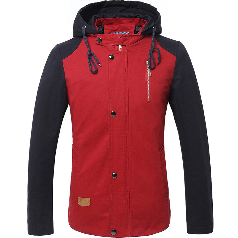 Big Size Collar Thick Long Winter Jacket Men Cotton 4 Colors Casual Men winter Coat Hooded