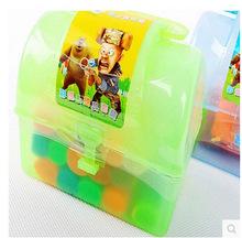Hot-selling child diy handmade plasticine bottled 14pcs colorful toys(China (Mainland))