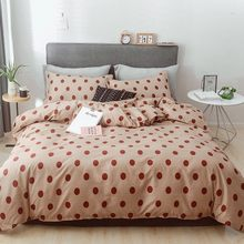 Solstice Home Textile Floral Duvet Cover Petal Pillow Cases Bed Sheet Girls Teenage Bedding Sets Single Double Twin Size 3/4Pcs(China)