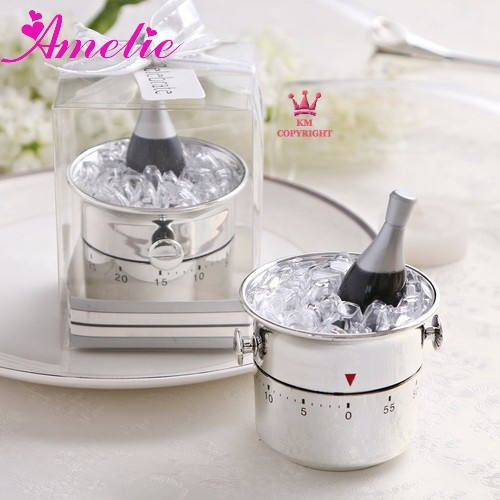 Wedding Gifts For Kitchen : Champagne Bucket Kitchen Timer Unique Party Favours Wedding Gifts ...