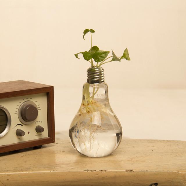 home decor vases flower pots planters home decoration bulb glass vase tabletop decorative vase wedding decor