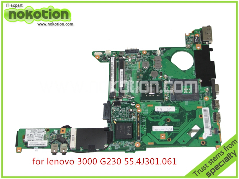 55.4J301.061 For lenovo 3000 G230 Laptop motherboard intel GM45 DDR2 brand new <br><br>Aliexpress