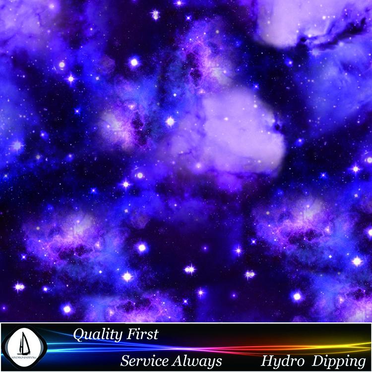Free Shipping Size 0.5M*1M Purple Nebula Water Transfer Printing Film No.HDC480 Inkjet Water Transfer Materials WTP Film(China (Mainland))