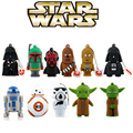 11 styles Pen drive Star wars darth vader 4GB 8GB 16GB 32GB 64gb flash drive BB