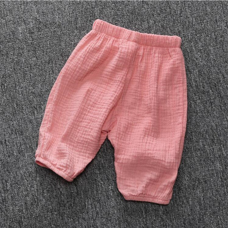 Summer Baby Clothes ,Kids harem linen pants ,Pink Baby Girls Capris Pant ,Soft Baby Girls Toddler Trousers ,baby pants(China (Mainland))