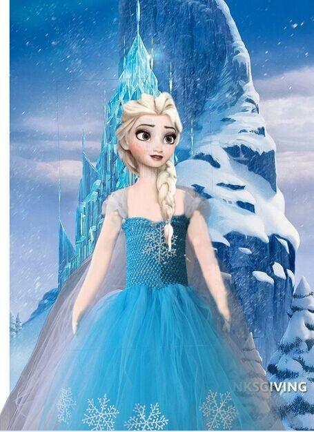 Скидки на Хэллоуин дети маленькая Девочка Принцесса Платья партии костюм