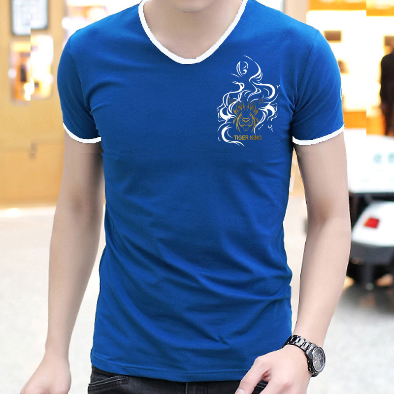 Hot SALE Freeshipping 100% Cotton T Shirt 2015 Summer Fashion mens t-shirt Short Sleeve men brand Slim Fit Camisetas polo shirts(China (Mainland))