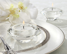 Clear Crystal Candle Holder Tealight Candlestick Wedding Decoration Gift 100pcs Free Shipping(China (Mainland))