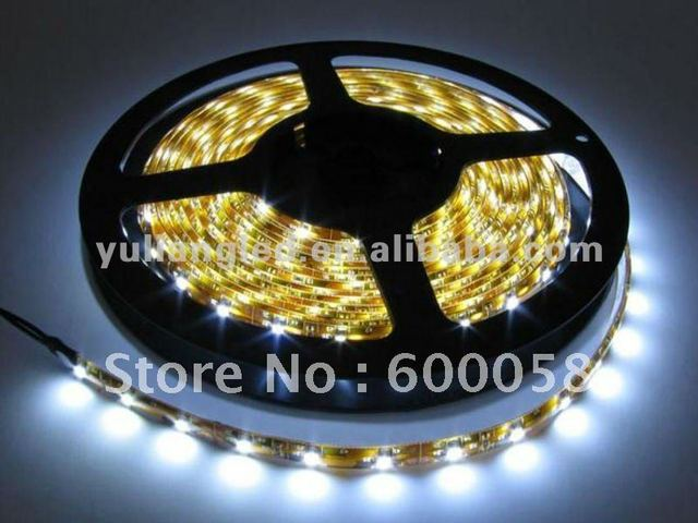 Outdoor lighting IP68 waterproof 120pcs/m smd3528 battery powered led strip light