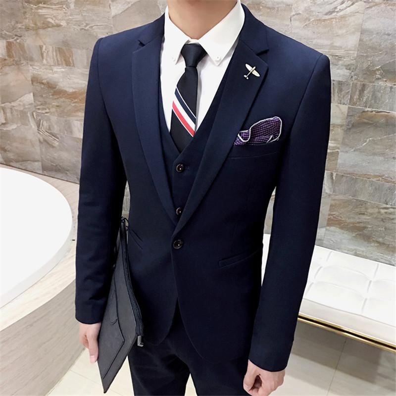 HTB1MPBIPVXXXXaPaXXXq6xXFXXXy - High Quality Men black gold tuxedo men suit black 3 pieces mens formal suits costume homme wedding suits for men mens suits