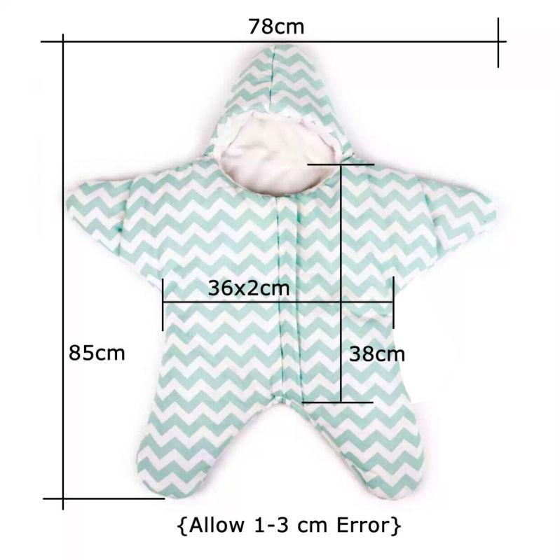 Hot Sale Star Shaped Baby Sleeping Bag For Newborns Blanket ...