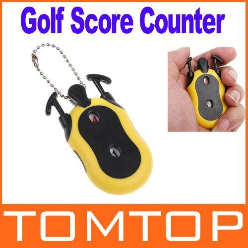 Mini Golf Stroke Shot Putt Score Counter Keeper with Key Chain H8352 Freeshipping Dropshipping Wholesale(China (Mainland))
