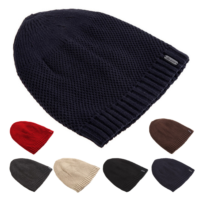 Winter Hat Women Men Beanies Cap Warm Fleece Beanie Skull Knit Hats Sprot Outdoor Ear Protect Caps - MY PRECIOUS store