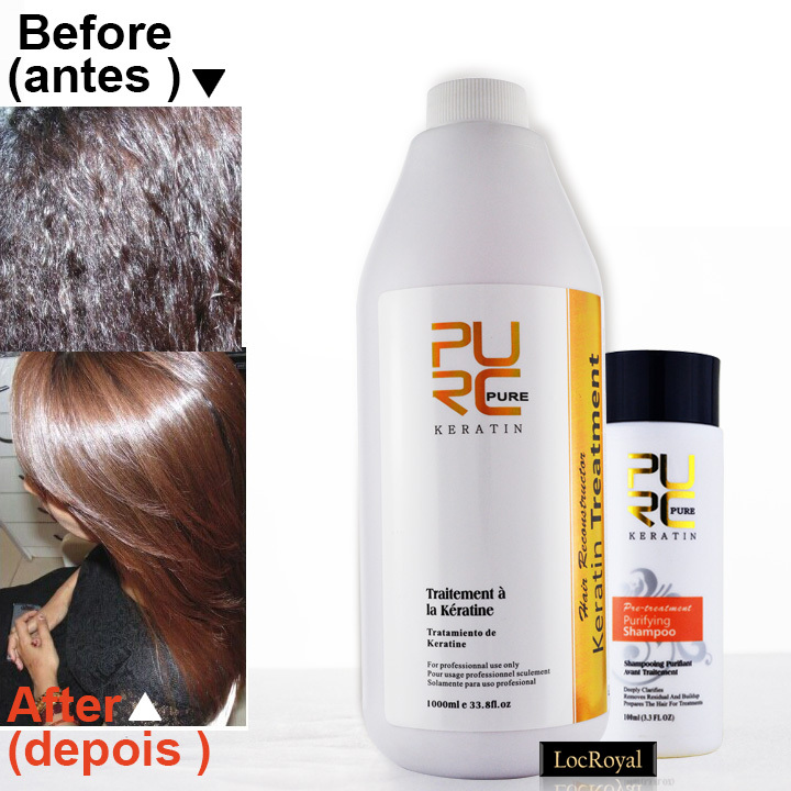 Buy keratin hair straightening treatment 5 formaldehyde keratin and hair care - Salon straightening treatments ...