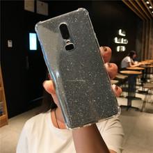 مضاد للخبط بريق 2 في 1 حافظة من البولي يوريثان ل OnePlus 6 5T نوكيا 5 6 2018 7 Plus 8 غطاء سيليكون Meizu 15 Lite M5 M6 نوت M5S M6S M6T(China)