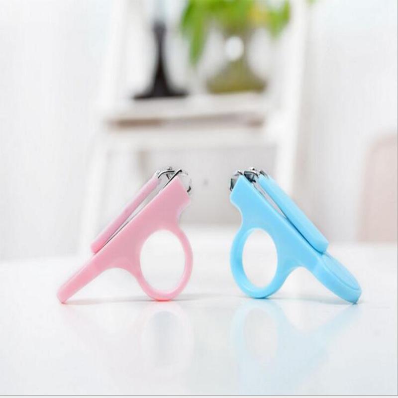 Free shipping!!Baby Nail Scissors Nail Clipper Baby Nail Care Safe Scissors(China (Mainland))
