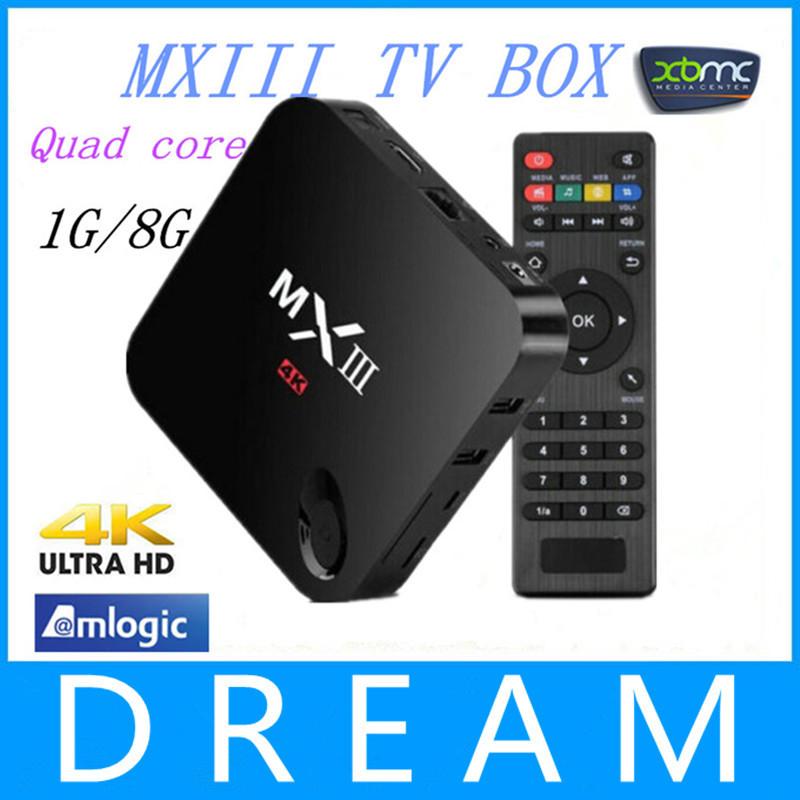 Телеприставка OEM 1 MXIII XBMC 1G /8G Amlogic S802 4 A9 4.4 Wifi 2.4g 4K HDMI домашний кинотеатр mxiii m82 amlogic s802 kitkat cortex a9 android 1 8 xbmc moveis amlogic m8 s802 mxiii