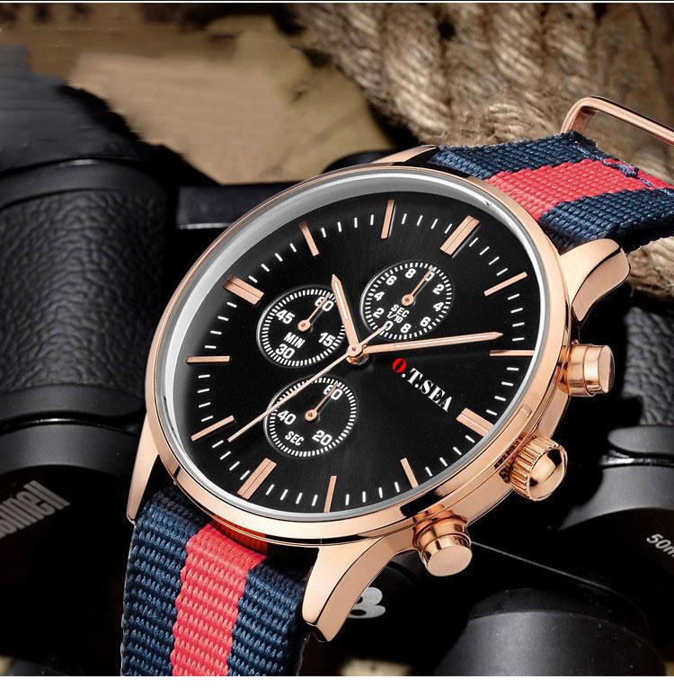 Hot 2016 Fashion Brand Military Watches Women Men Nylon Strap Casual Sport Quartz Watch Dress Wrist Watch Clock 9884(China (Mainland))