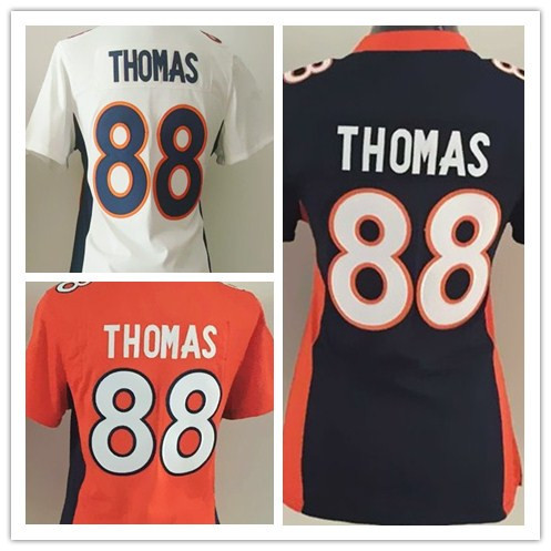 American football jersey Denver #88 Demaryius Thomas Broncos Elite jersey Best Quality Jersey Free shipping Size:S M L XL XXL(China (Mainland))