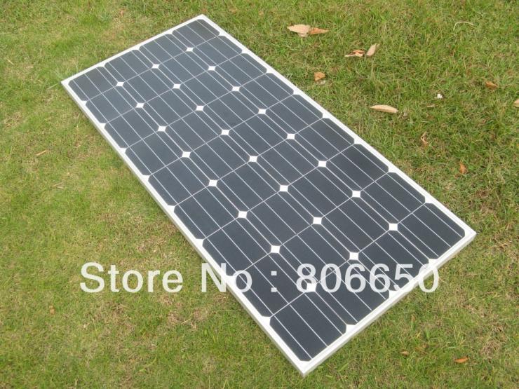300w-2*150W 12v mono soalr panel, 2pcs 150W PV solar module for RV,boat,car,12v battery(China (Mainland))
