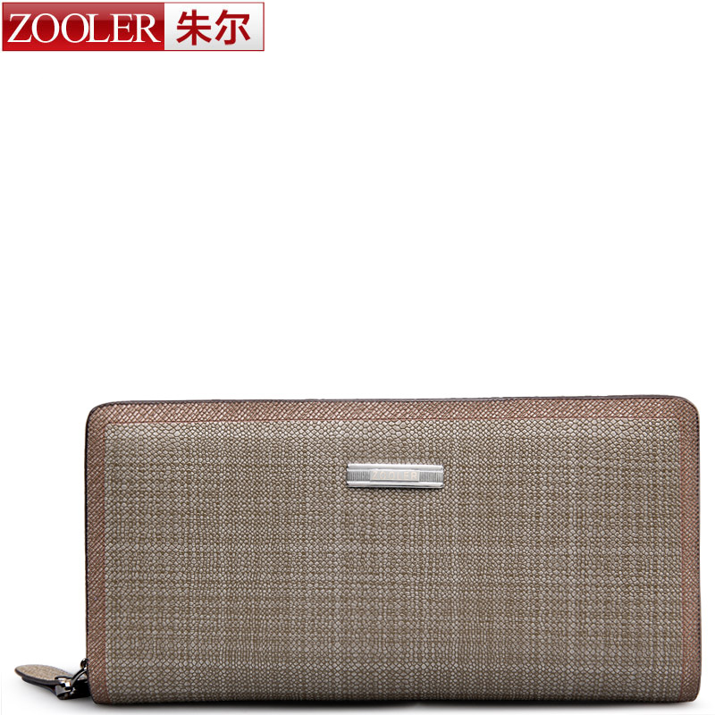 ZOOLER 2016 winter new wallets clutches men genuine leather men wallet card holder purses long simple casual style80011<br><br>Aliexpress