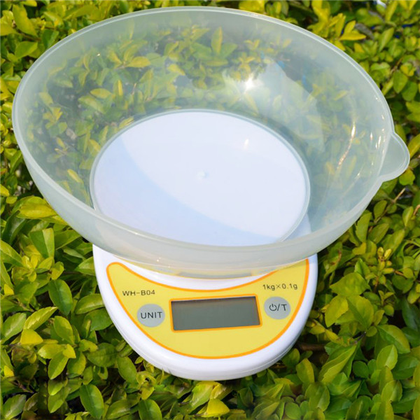 5kg/ 1g 5000g Portable LCD Display Digital Electronic Kitchen Scale 5kg/ 1g Food Parcel Weighing Balance with Bowl<br><br>Aliexpress