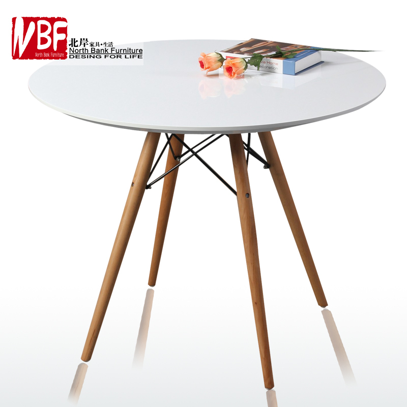 Round Dining Table Minimalist Modern Small Apartment Dining Room Table