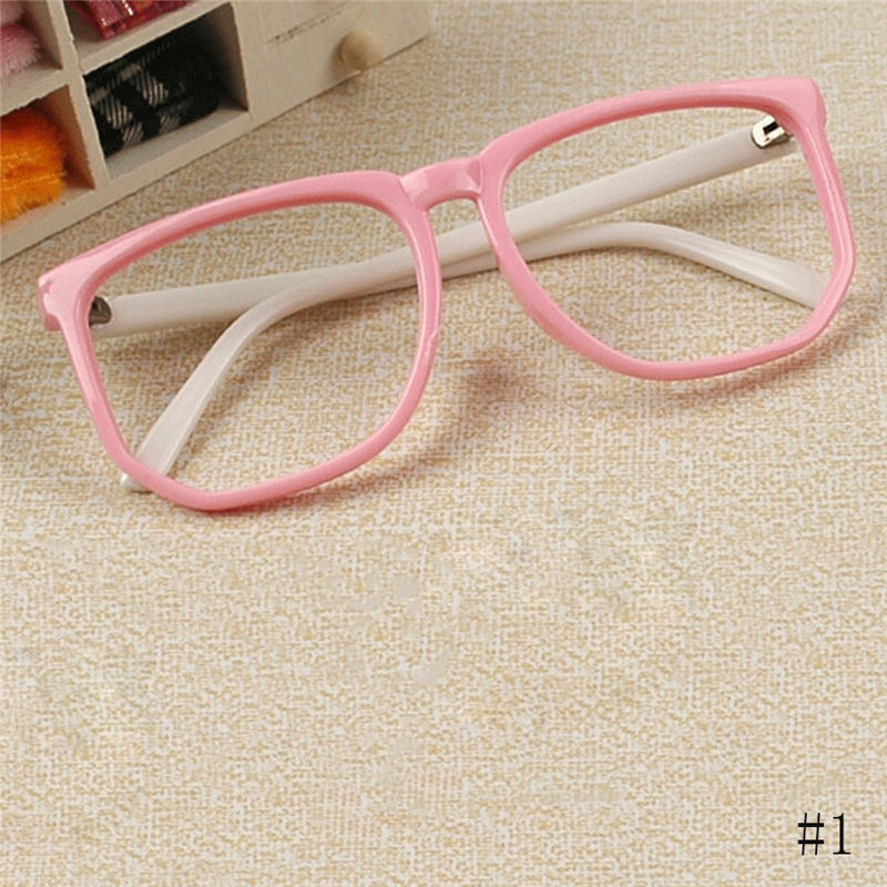 2016 New Children Plastic Glasses Frame Boys Girls Eyewear ...