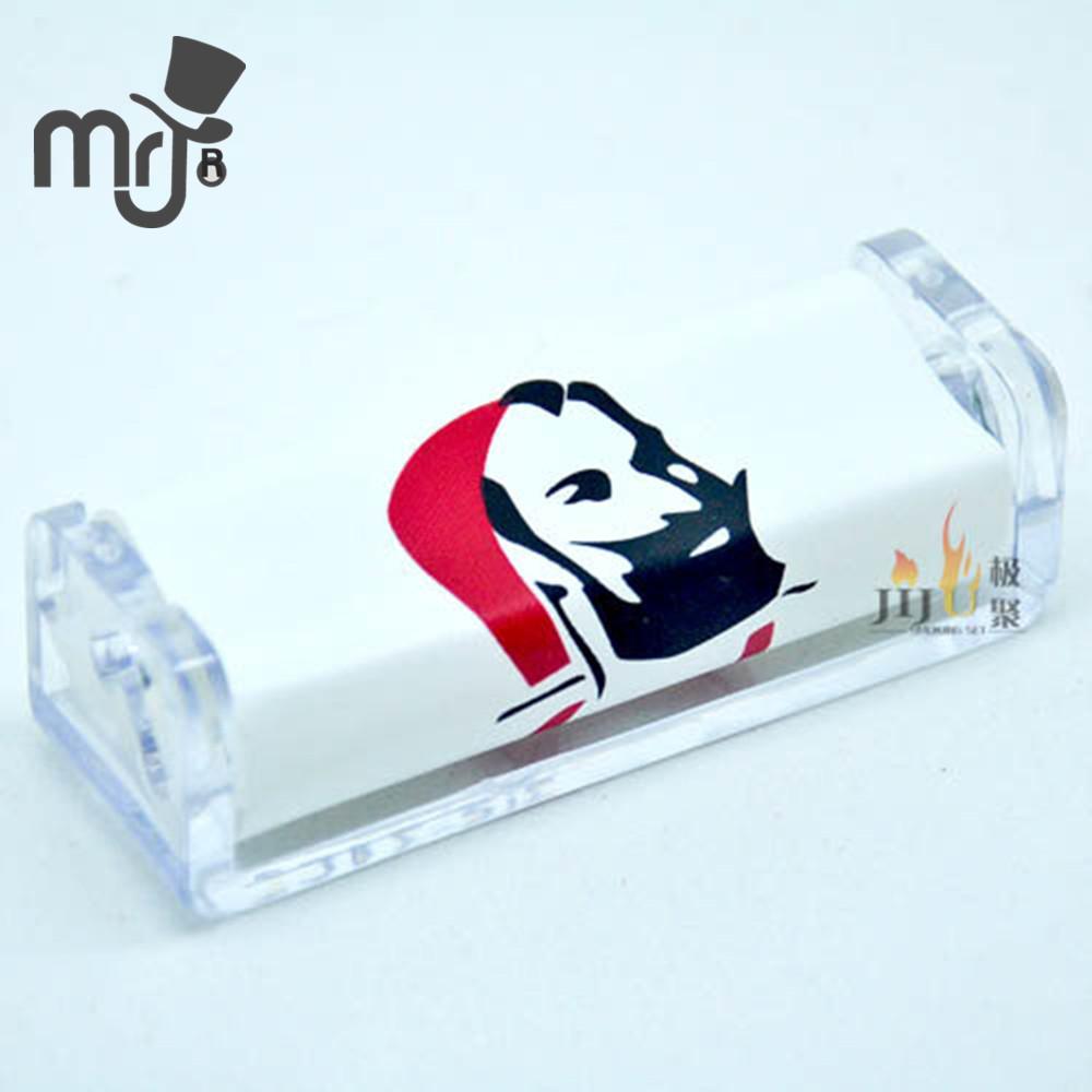 4 stuks zig-zag 70mm metalen handleiding sigaret rollen machine tabak injector geval maker buis vullen kruid molen roller(China (Mainland))