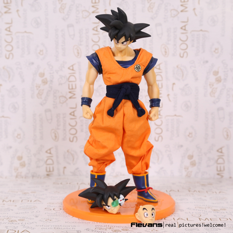 Megahouse Dragon Ball DOD Son Gokou PVC Action Figure Collectible Model Toy 21cm DBFG218(China (Mainland))