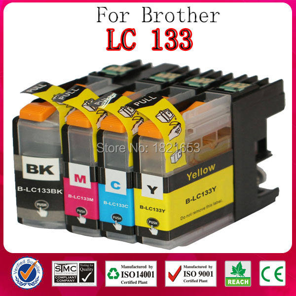 Brand New Full Ink Cartridge for Brother Printer Cartridge LC133 LC 133 In Stock(China (Mainland))