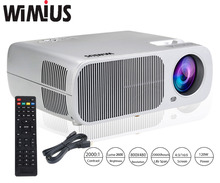 Wimius T1 Full HD 1080P 2600 Lumens LED Projector 5inch LCD Long LIfe Home Theater Beamer Video Proyector For XBOX TV Tablet DVD(China (Mainland))