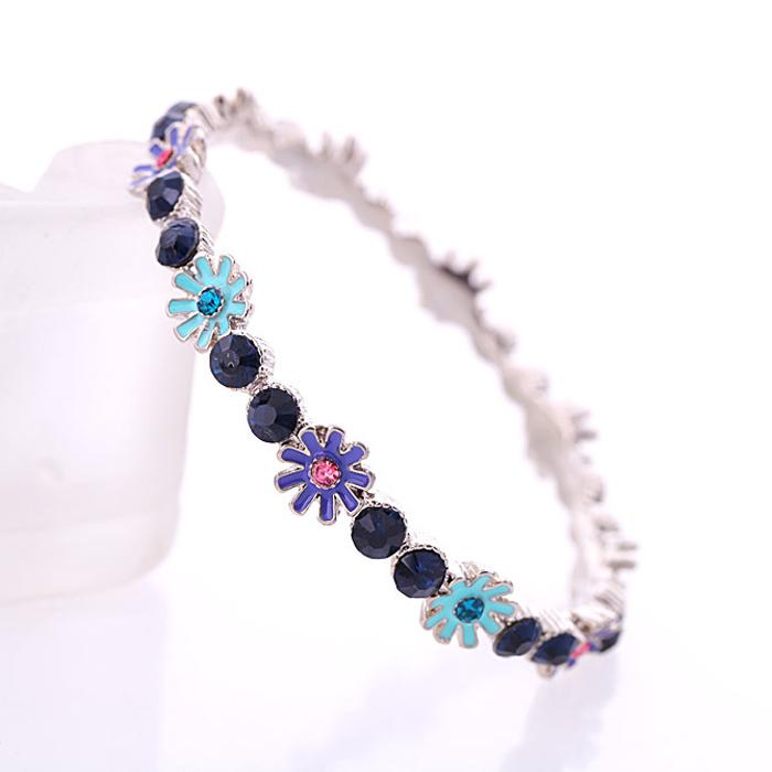 2015 New Design High quality fashion Charm Bracelets & Bangles Luxury handmade For Women Brand Fashion Bracelet Jewelry FHB0006(China (Mainland))