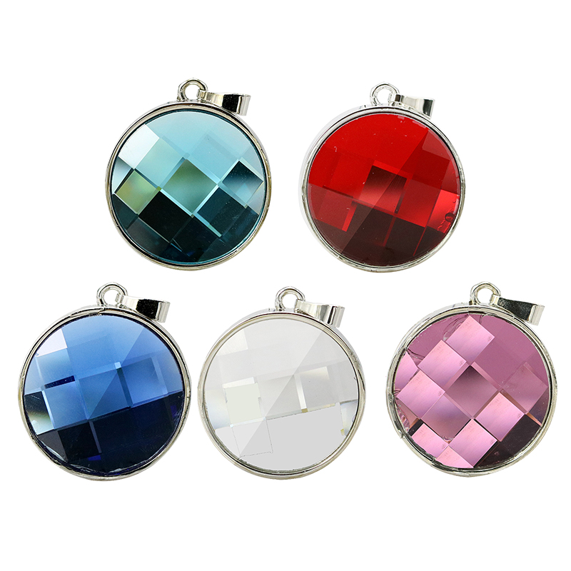 Best Selling genuine 8gb 16gb 32gb 64gb crystal jewellery gemstone necklace usb flash drive gift for girl menory disk pen drive(China (Mainland))