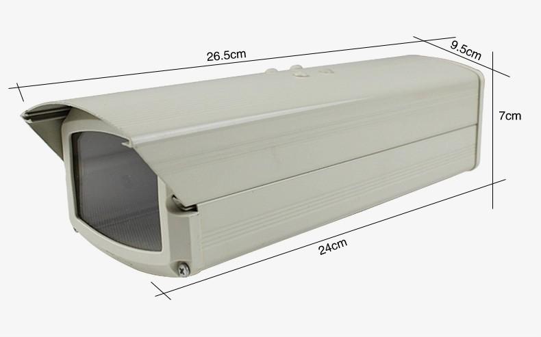 Гаджет  Outdoor CCTV security camera metal case housing waterproof shield 24CM length None Безопасность и защита