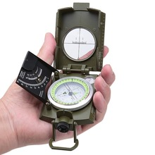 Buy New Multifunctional Military Compass Professional Camping Outdoor Marine Camp Bussola Survival Magnet Guide Kompas Army Green for $16.99 in AliExpress store
