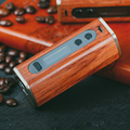 Sailing design Athena 60w box mod wood TC function 510 thread electronic cigarette with 18650 battery