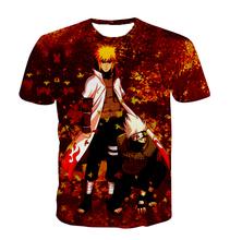 Buy summer new Short sleeve Cartoon Naruto Digital Printing t shirt Funny harajuku Hip Hop t shirt 3D Anime Men Women tee tops for $10.44 in AliExpress store